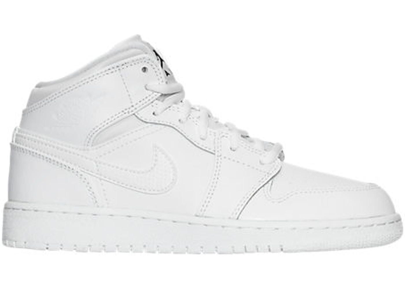 air jordan 1 white mid