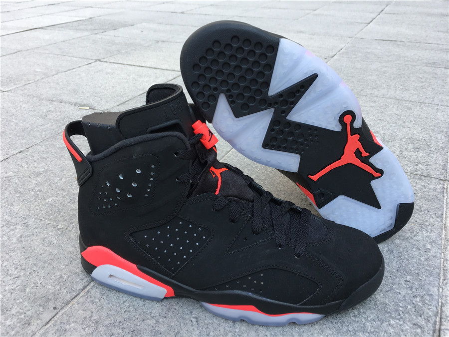 air jordan 6 infrared black